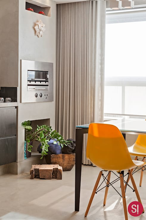 Comedor de estilo  por Botti Arquitetura e Interiores-Natália Botelho e Paola Corteletti