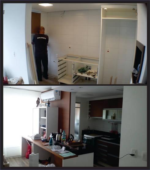 Reforma de Apartamento Passo D'areia:   por 151 office Arquitetura LTDA