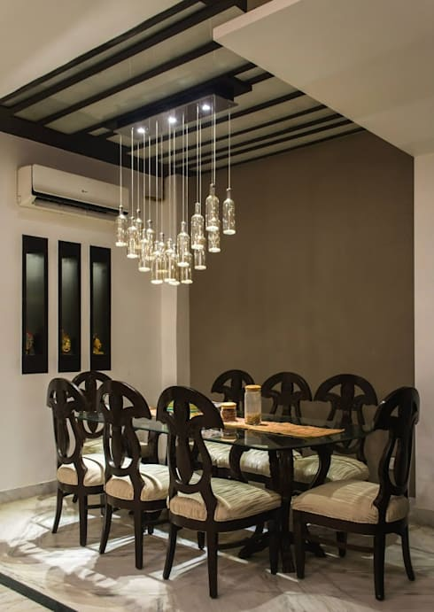 Dining room by Studio Ezube