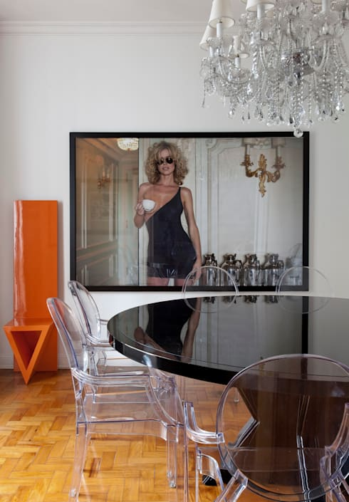 Comedores de estilo  por DIEGO REVOLLO ARQUITETURA S/S LTDA.