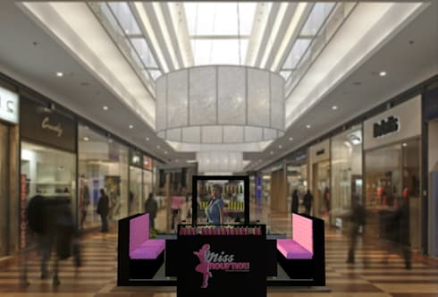 Miss Frou Frou – Beauty & Nail Care: Lojas e espaços comerciais  por Joana Neto | Interiores