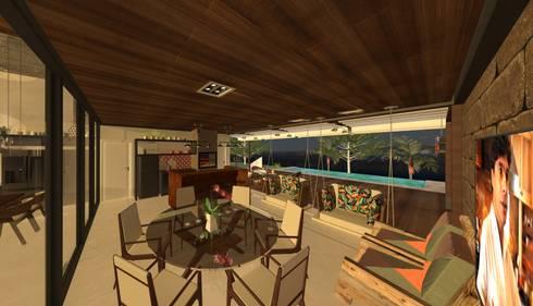 RESIDENCIA CONDOMINIO – 023 GOIANIA:   por Mobile Arquitetura