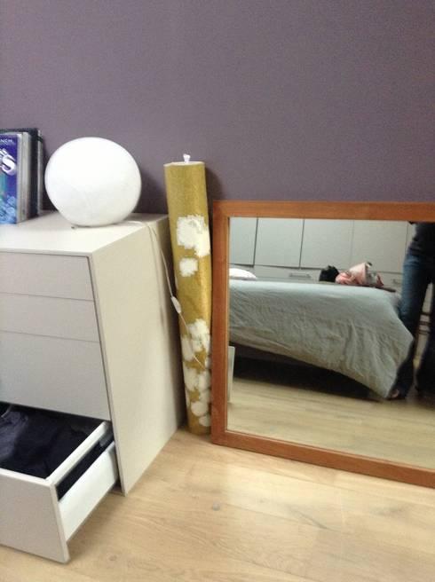 1 coin b b dans la chambre des parents par laetitia desmond homify. Black Bedroom Furniture Sets. Home Design Ideas
