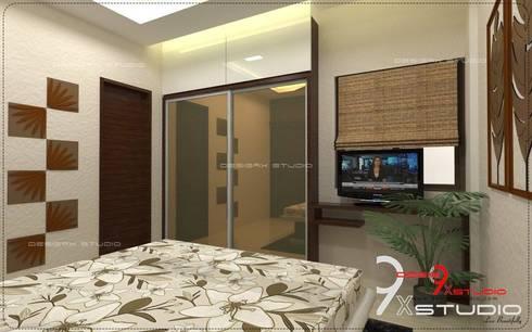 Bedroom designs: modern Bedroom by Desig9x Studio
