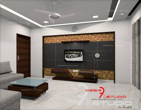 Living Area Designs: modern Living room by Desig9x Studio