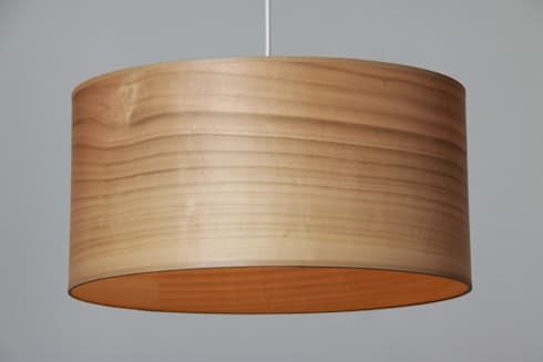 leuchten aus kirsche echtholz furnier von voigt. Black Bedroom Furniture Sets. Home Design Ideas