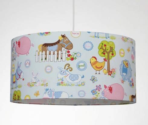 lampenschirme f r kinderzimmer by voigt lampenschirme gmbh. Black Bedroom Furniture Sets. Home Design Ideas