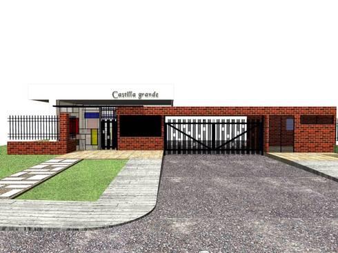 CONJUNTO RESIDENCIAL CASTILLA GRANDE - PORTERÍA:  de estilo  por C&G ARQUITECTURA E INGENIERÍA