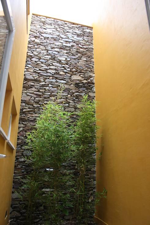 Pátio Interior depois da intervenção:   por Jorge Feio, Arquitecto