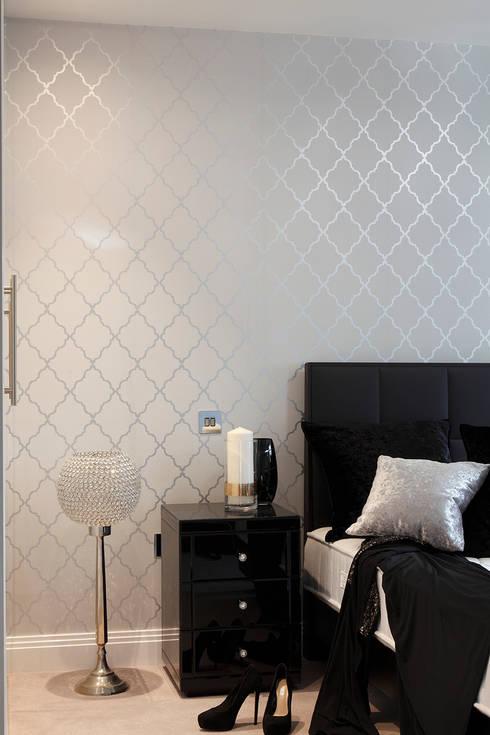 New Build Contemporary Interior Design Ealing : classic Bedroom by Quirke McNamara