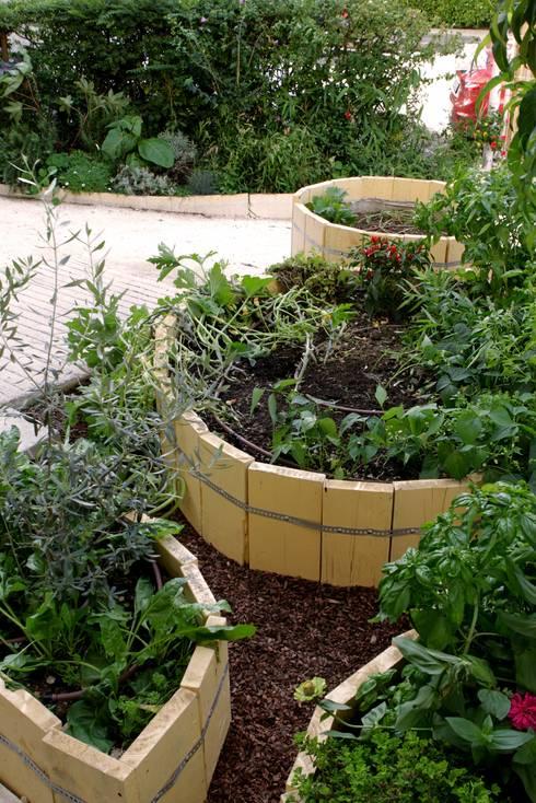 L 39 orto giardino dei bambini di atelier delle verdure homify - L orto in giardino ...