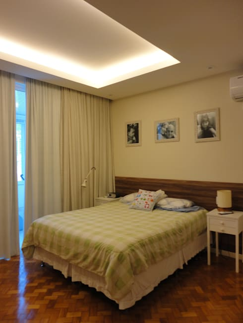 Dormitorios de estilo moderno por Maria Helena Torres Arquitetura e Design