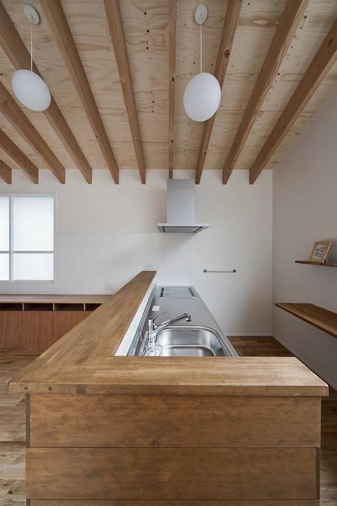 modern Kitchen by キリコ設計事務所