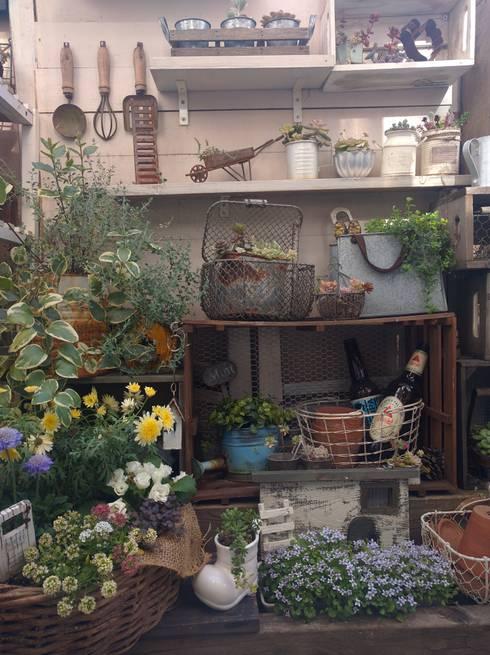 Jardines de estilo  por kokkomacha