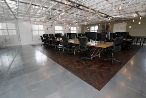 Redesign a contemporary office refit at delete leeds for Office refit