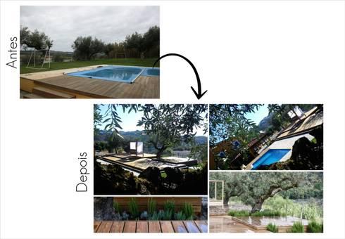 Piscina e Miratejo:   por Jorge Feio, Arquitecto