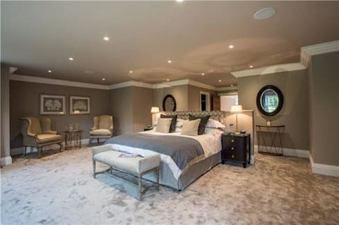 Bedroom interior: modern Bedroom by Quirke McNamara