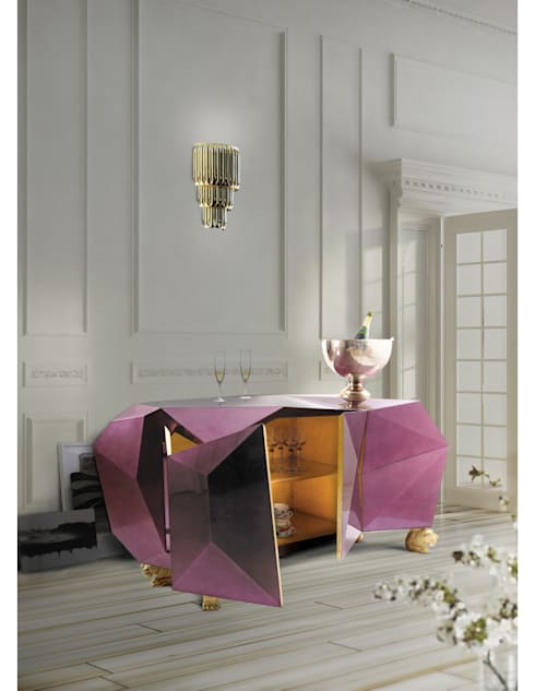 DIAMOND Sideboard: Sala de estar  por Be-Luxus