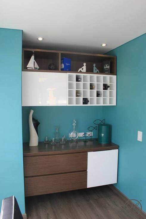 Cocinas de estilo moderno por Home Reface - Diseño Interior CDMX