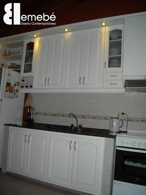 Amoblamientos de cocina living y otros by emeb homify for Amoblamientos living