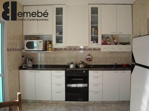 Amoblamientos de cocina living y otros by emeb homify for Amoblamientos de cocina