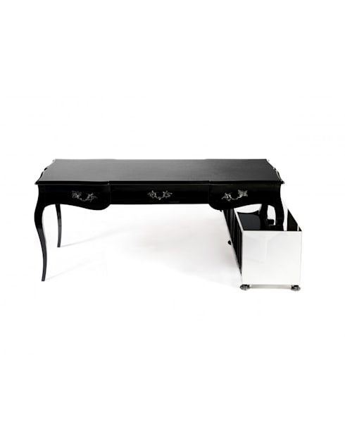BOULEVARD Writting Desk: Escritório  por Be-Luxus
