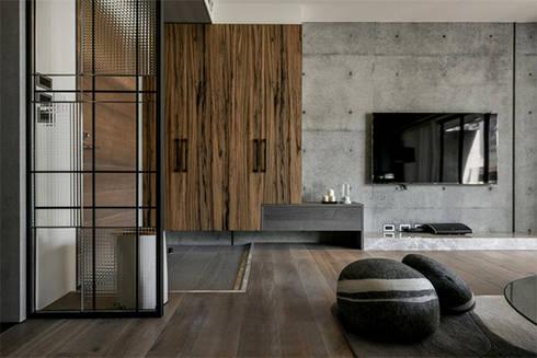 [HOME] PJ Design: KD Panels의  거실