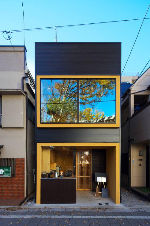 Projekty,   zaprojektowane przez Qull一級建築士事務所