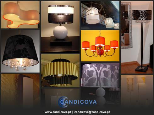 CANDICOVA  lamps: Casa  por LUZZA by AIPI - Portuguese Lighting Association