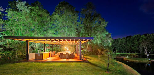 Casa las Moras : Casas de estilo moderno por Lopez Duplan Arquitectos