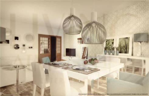 Sala de Estar: Salas de estar modernas por Living Atmosphere