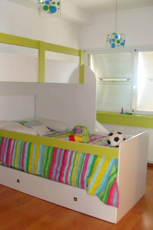 Recámaras infantiles de estilo moderno por Prece Arquitectura
