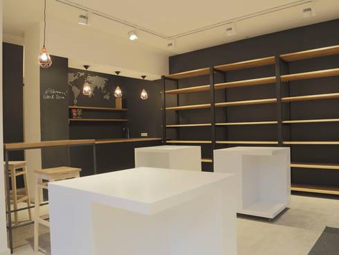 Interior Design:  Gastronomy by Atelier Gitterle