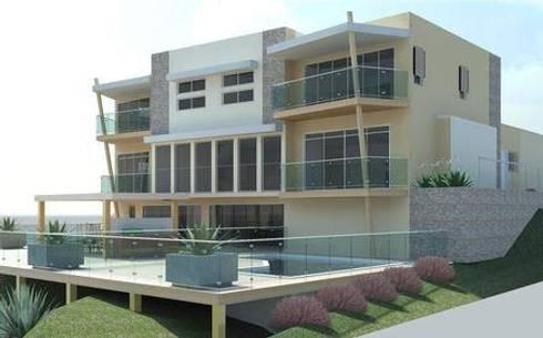 Proyecto casa H:  de estilo  por Ismael Vazquez