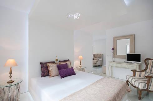 Suite Bedroom: Quarto  por Escolha Viva, Lda