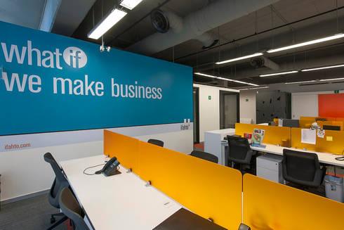 Ifahto 2.0: Estudios y oficinas de estilo moderno por ARCO Arquitectura Contemporánea