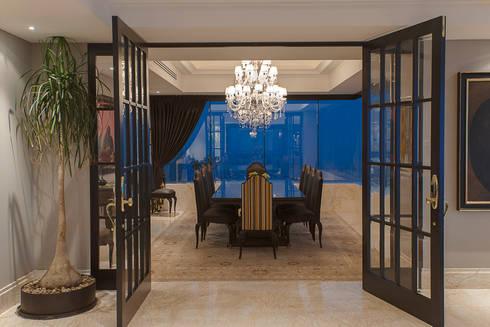 Departamento ASL : Comedores de estilo moderno por ARCO Arquitectura Contemporánea