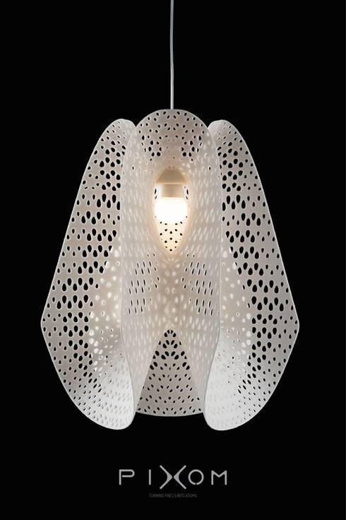 Pixom lamps: Casa  por LUZZA by AIPI - Portuguese Lighting Association
