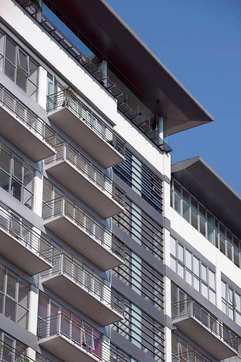 Skyview del Valle: Casas de estilo moderno por ARCO Arquitectura Contemporánea