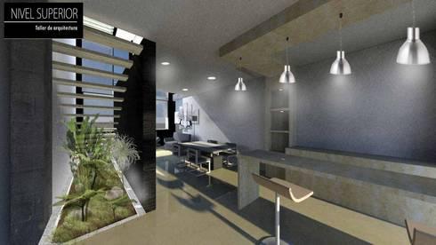 Casa Cali – Valle del cauca: Comedores de estilo moderno por NIVEL SUPERIOR taller de arquitectura