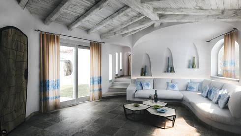 Rendering Villa Costa Smeralda Style - Sardegna by DMC Real Render ...