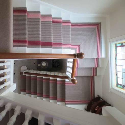 Edwardian House Remodels:  Corridor & hallway by Paul D'Amico Remodels