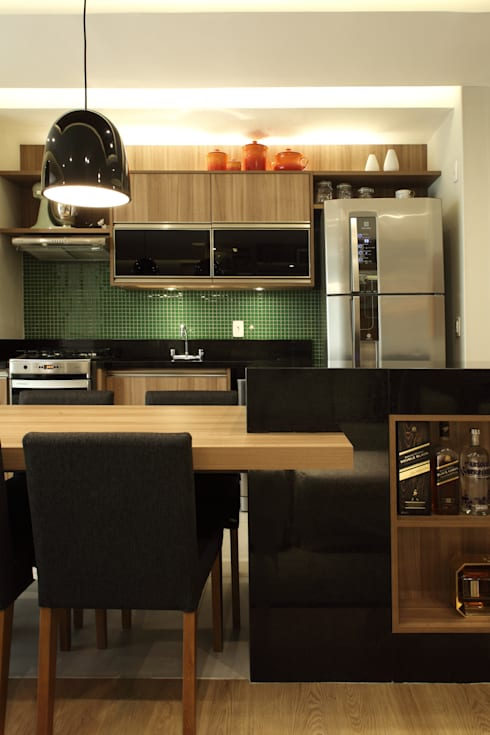 Projekty,  Kuchnia zaprojektowane przez Studio 262 - arquitetura interiores paisagismo