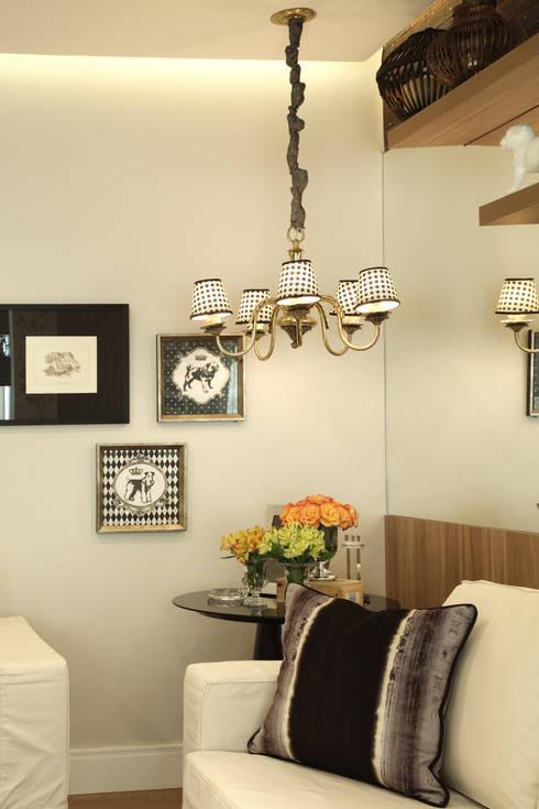 Projekty,  Salon zaprojektowane przez Studio 262 - arquitetura interiores paisagismo