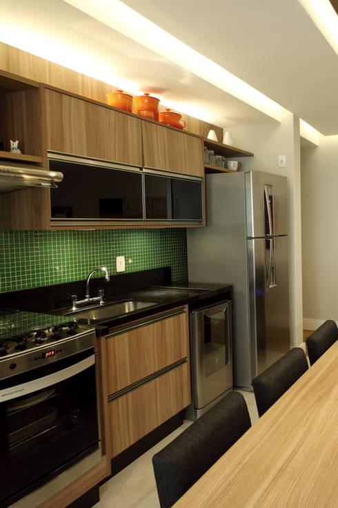 Cocinas de estilo  por Studio 262 - arquitetura interiores paisagismo