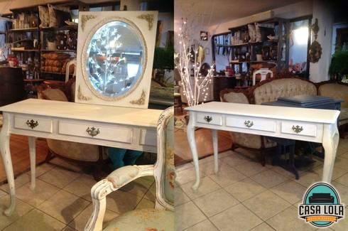 Muebles Casa Lola: Recámaras de estilo moderno por jaberr7025