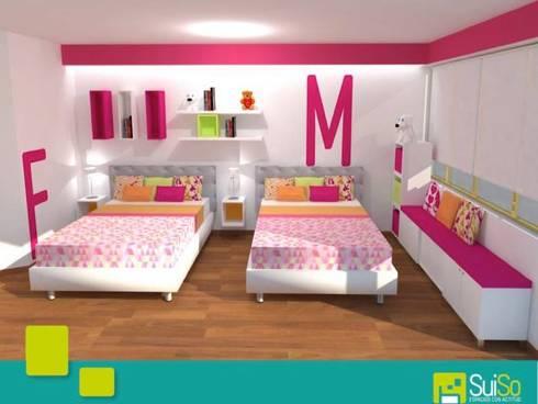 Suiso: Habitaciones infantiles de estilo  por SUISO