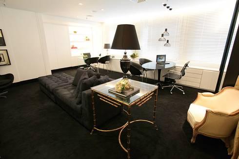 Lounge: Espaços comerciais  por Piloni Arquitetura