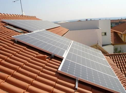 Instalações de painéis solares:   por Sunenergy
