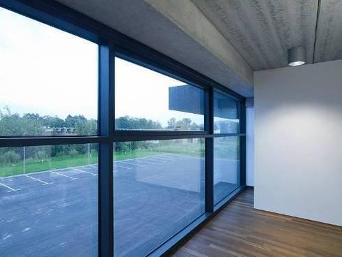 Trabajos realizados: Puertas y ventanas de estilo moderno por Decoraciones en general